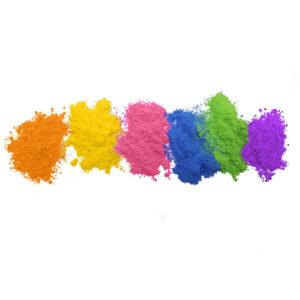 spalvoti milteliai